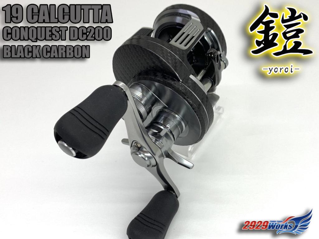 19カルカッタコンクエスト200DCシルバーカーボン