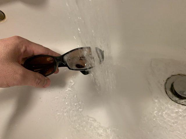 偏光 水洗い