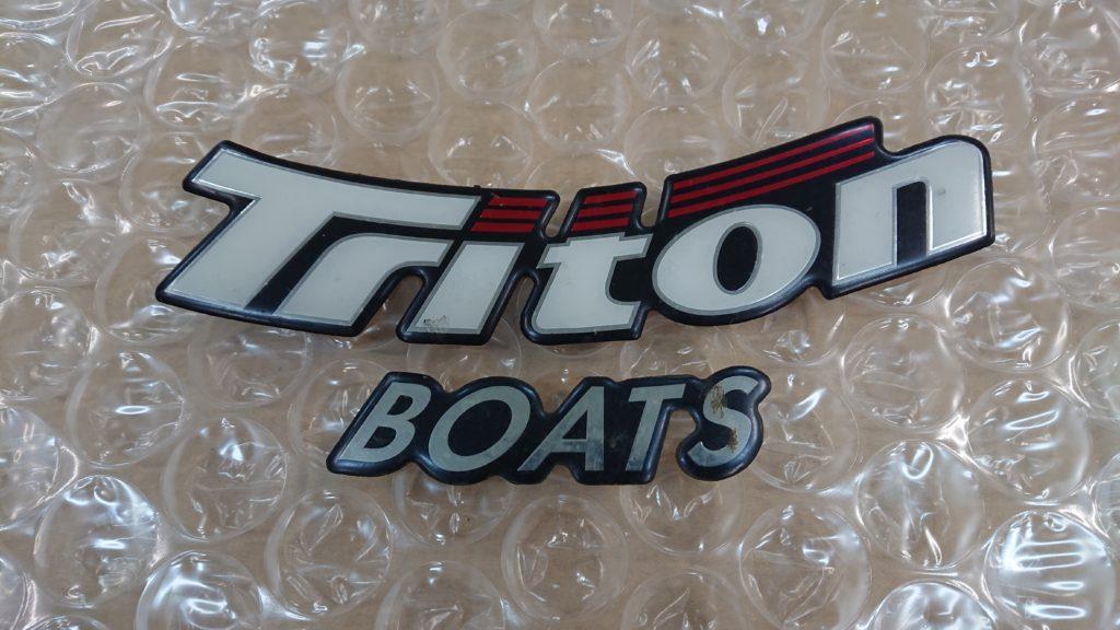 トライトンボートデカール