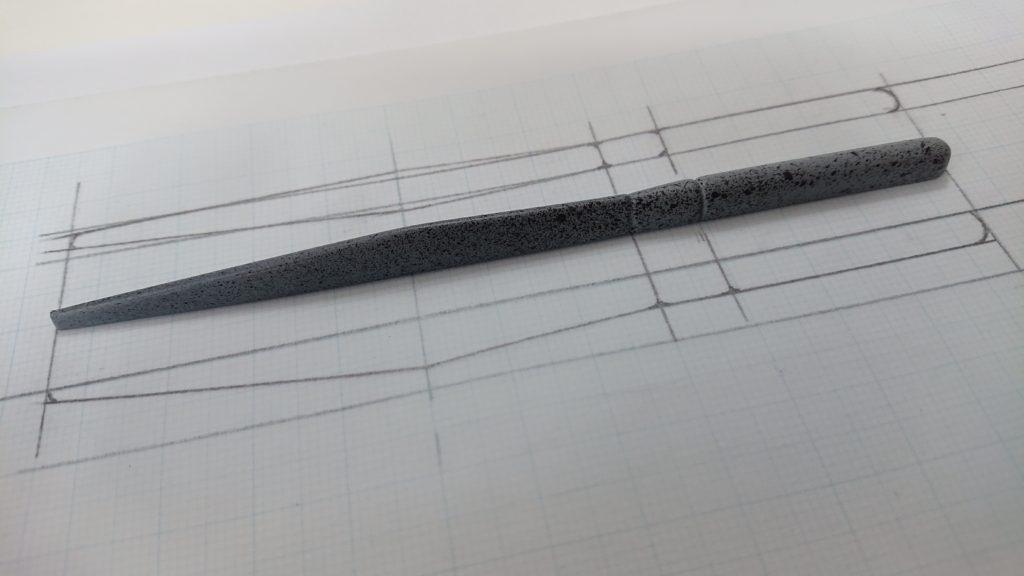 ワームの作り方モデル