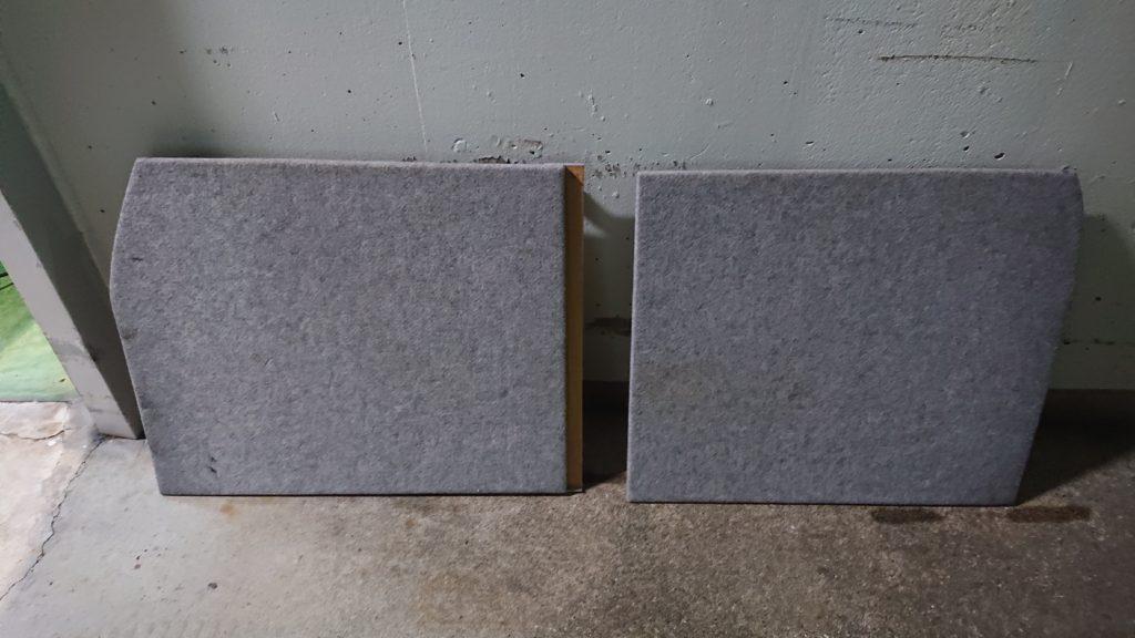 ラゲッジルーム棚作り方