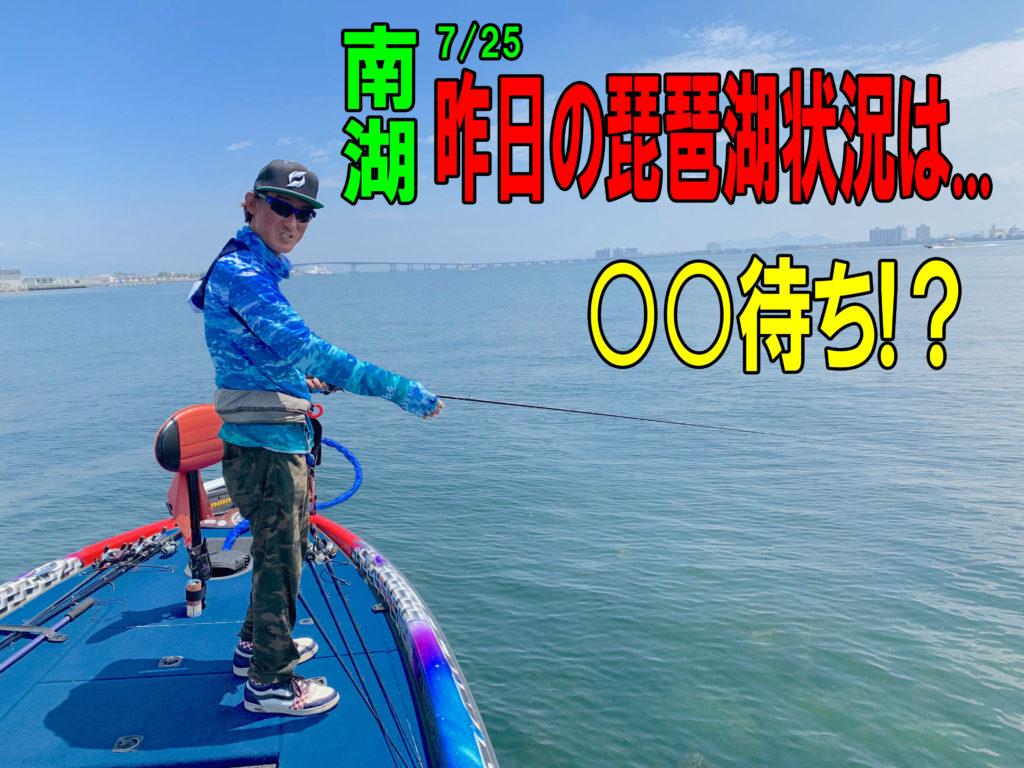 琵琶湖サマーパターン